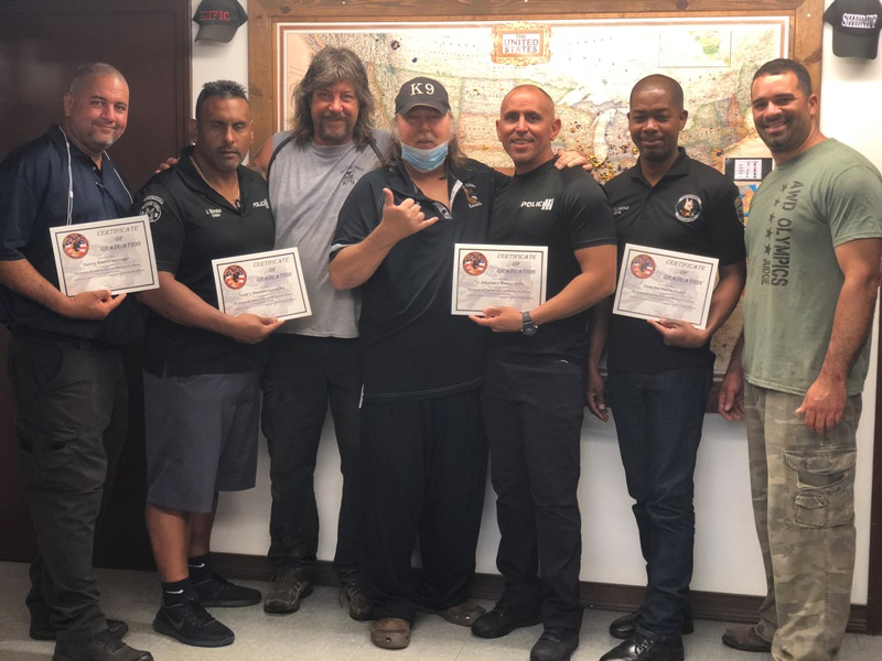 Refortification Trainers Course   Puerto Rico Police Department
